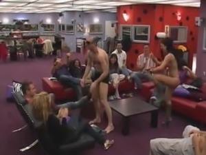 Big Brother Jasmina stripping