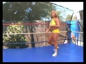 Sleeper hold knockout match