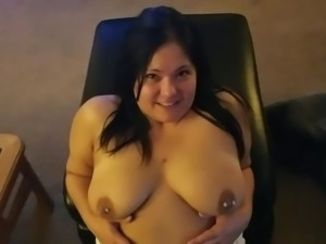 Sexy amateur sucks cock for a huge messy facial