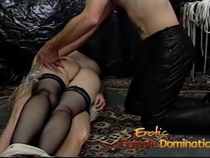 Two smoking hot sluts have some naughty fun in the dungeon