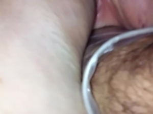 wife fisted just now