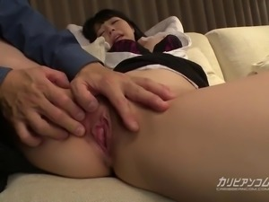Tied up Busty Asian bdsm session - Ai Uehara - Uncensored Asian-bdsm,...