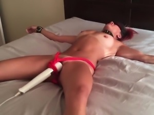 Slutwife in training orgasm