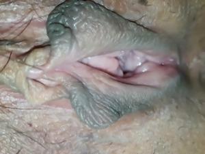 Korean Wife's Wet Pussy