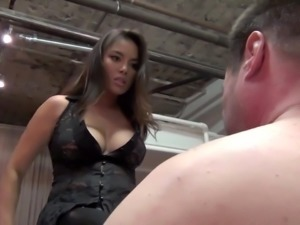 Mistress Justene face slapping, verbal use, Asian, FemDom