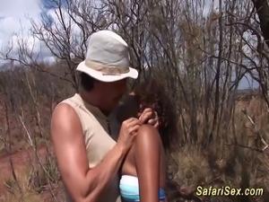 extreme african amateur bdsm fetish sex at my safari fuck tour
