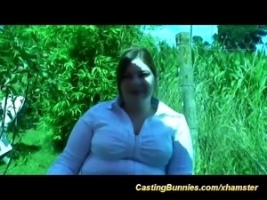 hot plumper french casting babe