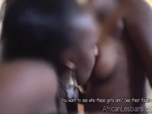 Amateur African lesbian fucks chubby gf
