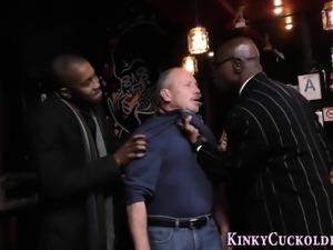 Kinky wife gets bbc cum