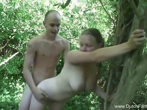 Hot outside voyeur flick from the amazing Dutch Fantasies where this chubby...