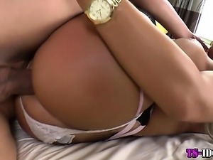 Knockers tranny bang raw