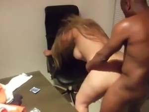 SDRUWS2 - BRAZILIAN BLONDE DRILLED BY A BLACK DUDE