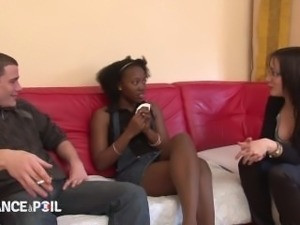 Homeless Black Ass Finds A New Home with Dick To Share - French