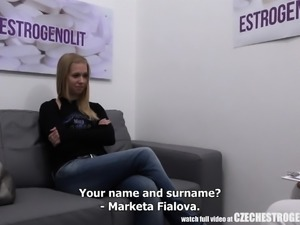 Young Czech Girl Takes a Pill for Better Sex Experience