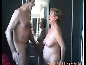 Inexperienced mature couple having pleasure cam sex