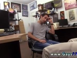 High school blowjob teen gay first time Dude wails like a lady!