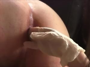 Girlfriend strapon fucking her man