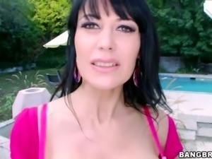 Busty MILF Eva Karera Loves Big Black Cock