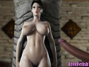 3d Hentai Posh Girl vs, Black Monster Cock - FreeFetishTVcom