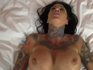 Heavily tattooed Dutch hooker gets her anus and muff nailed in mish and doggy...