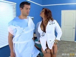 sexy doctor fucked by patient