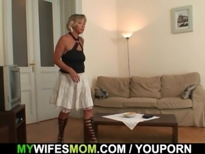Girlfriends hot mom gets fucked from behind