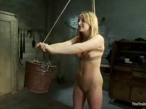 Jessie Cox gets bound, tortured and brutally fucked in BDSM vid