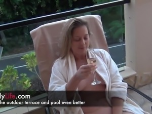 a day on my livecam with a swinger wife