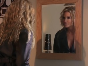 Passionate blond milf is starting it with 69