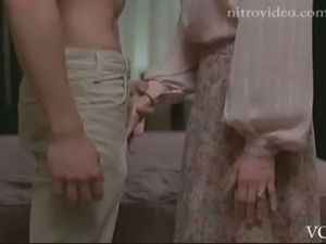 Sexy Celeb Lesley Ann Warren Grabbing a Cock in a Hot Movie Scene