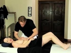 Milf railed by masseur