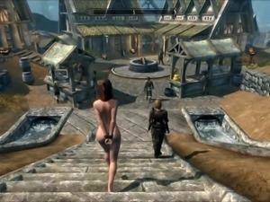 Perils of escaped Skyrim slavegirl 11