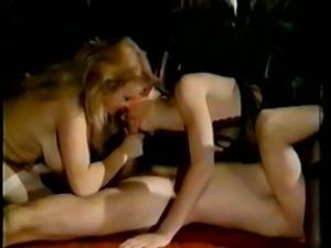 Retro Classic - Lingerie Threesome (FFM)