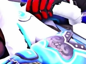 OVERWATCH 3d Sexier Overwatch Mei Musicvideo Collection