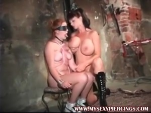 My Sexy Piercings BDSM slave and big boob pierced master Sum