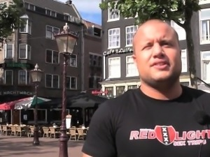 Jizz faced dutch hooker