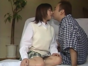 Asian babe gets ravishing fuck after incredible blowjob