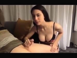 Asian Girl likes penis
