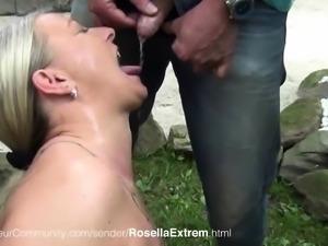Rosella wird Anal gefickt