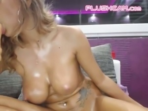 This MILF tried masturbating on cam before using dildos and I always loved it