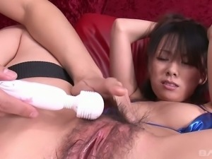 Pleasure seeking whore Asuka cannot imagine her life without her sex toys