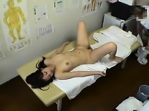Petite Oriental girl with lovely boobs enjoys wild sex with