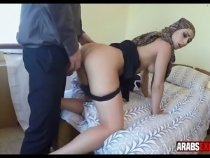 Fucking a clothed Aran girl in front of the camera