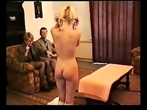 Schoolgirl spanked that is difficult by academics