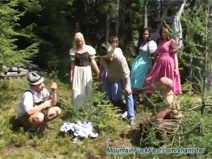 mountain fuck fest orgy