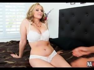 Young Stud Fucks Blonde Big Tits MILF Julia Ann