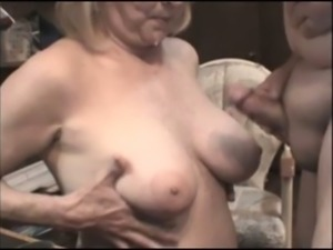 Blond haired mature housewife provided my buddy with a blowjob