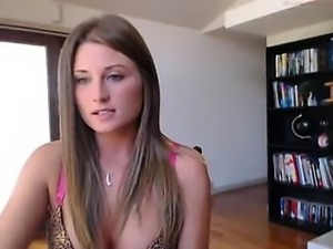 Dutch Cam Teen Together with Her Wand