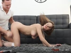 Beautiful Teen Shakila Asti Takes Anal Pounding