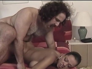 Young Ebony Doggystyle Interracial Fuck